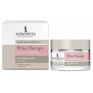 Tápláló Arckrém Száraz Bőrre Wine Therapy Resveratrol Afrodita Kozmetika, 50ml kép