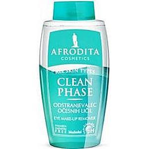 Afrodita Kozmetika - Clean Phase Bifázisos Sminklemosó Szemkörnyékre 125 ml kép