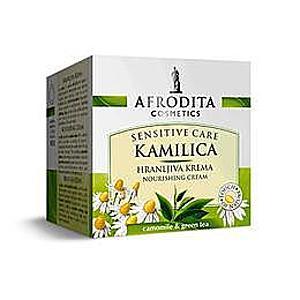 Afrodita Kozmetika - Tápláló Krém Camomile Sensitive 50 ml kép