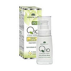 Szemkontúr Krém Q10 + Zöld Tea Cosmetic Plant, 30ml kép