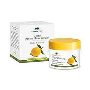 Bőrfehérítő Krém Citrommal és Pitypanggal Cosmetic Plant, 50ml kép
