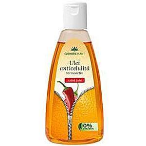 Termoaktív Anticellulitisz Olaj Csípős Paprika Cosmetic Plant, 200ml kép