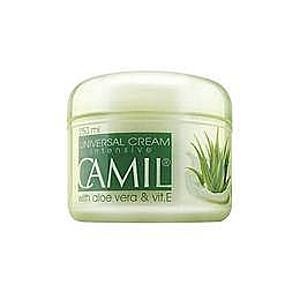 Arc- és testápoló krém aloeval és E vitaminnal Camil 250 ml kép