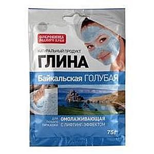 Bajkáli Kék Kozmetikai Agyag Fiatalító Hatással Fitocosmetic, 75g kép