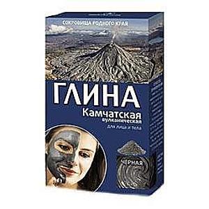 Kamcsatkai Fekete Vulkanikus Kozmetikai Agyag Lifting Hatással Fitocosmetic, 100g kép