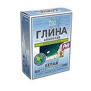 Anapa Fehér Kozmetikai Agyag Mineralizáló Hatással Fitocosmetic, 100g kép