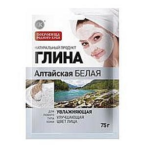 Altai Fehér Kozmetikai Agyag Hidratáló Hatással Fitocosmetic, 75g kép