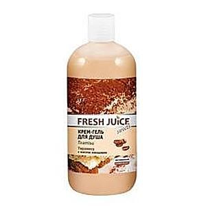 Krémes Tusfürdő Gél Tejproteinekkel, Kakaó és Kávé Kivonatokkal Fresh Juice, 500ml kép