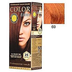 Tartós Hajfesték Rosa Impex Color Time, árnyalat 69 Copper Passion kép