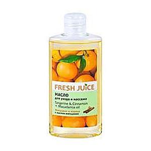 Testolaj Mandarinnal, Fahéjjal és Makadámia Olajjal Fresh Juice, 150ml kép