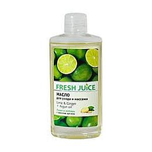 Testolaj Lime-mal, Gyömbérrel és Argán Olajjal Fresh Juice, 150ml kép