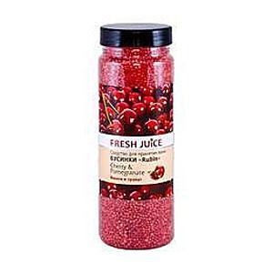Fürdőgyöngyök Cseresznye és Gránátalma Kivonatokkal Fresh Juice, 450g kép