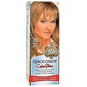 Hajfesték Silk&Shine Gerocossen Color Plus, árnyalata 13 Mogyoró Szőke, 50 g kép