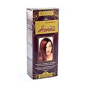 Színező Balzsam Henna Kivonattal Henna Sonia, Nr.18 Fekete Cseresznye, 75 ml kép