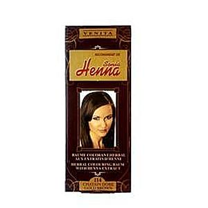 Színező Balzsam Henna Kivonattal Henna Sonia, Nr.114 Aranybarna 75 ml kép