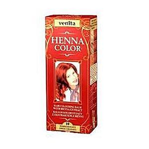 Színező Balzsam Henna Kivonattal Henna Sonia, Nr.10 Piros Gránátalma 75 ml kép
