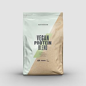 Vegan Protein Blend - 1kg - Eper kép