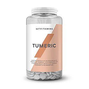 Turmeric (Kurkuma) & BioPerine® kapszula - 180Kapszulák kép
