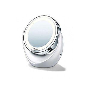 Kozmetikai tükör világítással - fehér - Méretet 20x21, 0x 11, 5 kép