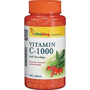 Vitaking C-1000mg c-vitamin Tabletta 100 db kép