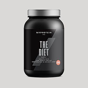 THE Diet - 30servings - Eper milkshake kép