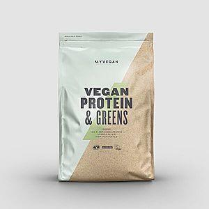 Vegan Protein & Greens - 1kg - Mokka kép