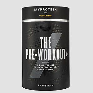 THE Pre-Workout+ - 20servings - Narancs Mangó kép