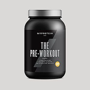 THE Pre-Workout - 30servings - Citrom sörbet kép