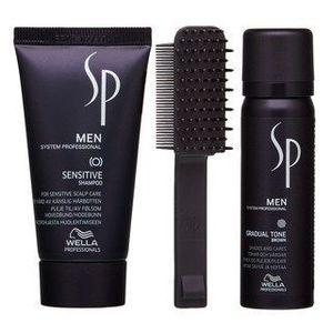 Wella Professionals SP Men Gradual Tone szett természetes hajszín visszaállítására Brown 60 ml kép
