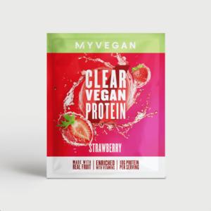 Clear Vegan Protein (minta) - 16g - Eper kép
