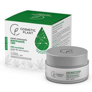 Mattosító Hidratáló Krém Kannabidiollal Cosmetic Plant, 50 ml kép