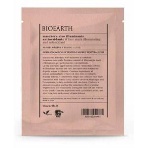 Antioxidáns és Fényesítő Maszk Algákkal – Törlőkendő Típus - Bioearth, 1 db. kép