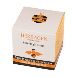 Éjszakai Krém Bio Mézzel Herbagen, 50 g kép