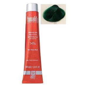 Féltartós Krémhajfesték Luxury Green Light, árnyalat Green, 100 ml - Korrektor kép