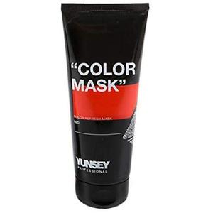 Piros Hajszínező Maszk - Yunsey Professional Color Mask Red, 200 ml kép