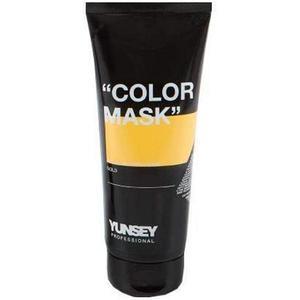 Aranyszínű Hajszínező Maszk - Yunsey Professional Color Mask Gold, 200 ml kép