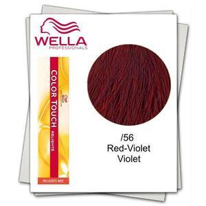Féltartós hajfesték, ammóniamentes - Wella Professionals Color Touch Relights Red árnyalat /56 kép