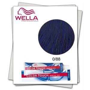 Ammóniamentes hajfesték - Wella Professionals Color Touch Special Mix árnyalat 0/88 Intenzív Kék kép