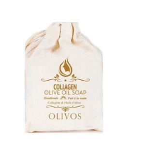 Bőrfeszesítő és Rugalmasító Szappan Olívaolajjal és Kollagénnel Olivos, 150 g kép