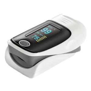 Ujjra csiptethető pulzoximéter, pulzusmérő és véroxigénszint mérő kép