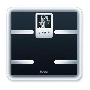 Személymérleg fekete - fekete - Méretet 36, 8x4, 7x36 cm kép