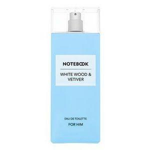 Aquolina Notebook - White Wood & Vetiver Eau de Toilette férfiaknak 100 ml kép