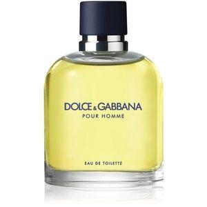 Dolce & Gabbana Pour Homme eau de toilette uraknak 125 ml kép