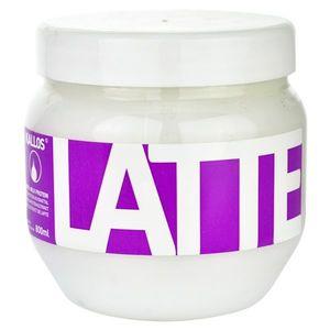 Kallos Latte maszk sérült, vegyileg kezelt hajra 800 ml kép