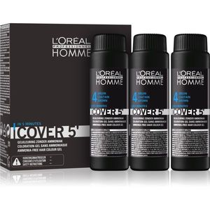 L'Oréal Professionnel Homme Cover 5' színező hajfesték 3 db kép