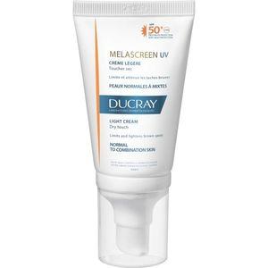 Ducray Melascreen könnyű napozó krém a pigmentfoltok ellen SPF 50+ 40 ml kép