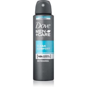 Dove Men+Care Clean Comfort izzadásgátló spray dezodor 48h 150 ml kép