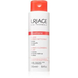 Uriage Roséliane Dermo-Cleansing Fluid tisztító fluid Érzékeny, bőrpírra hajlamos bőrre 250 ml kép