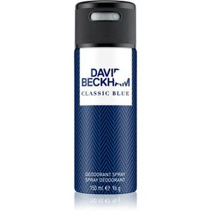 David Beckham Classic Blue spray dezodor uraknak 150 ml kép