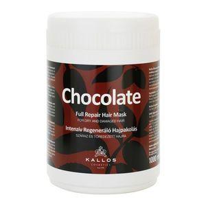 Kallos Chocolate regeneráló maszk száraz és sérült hajra 1000 ml kép